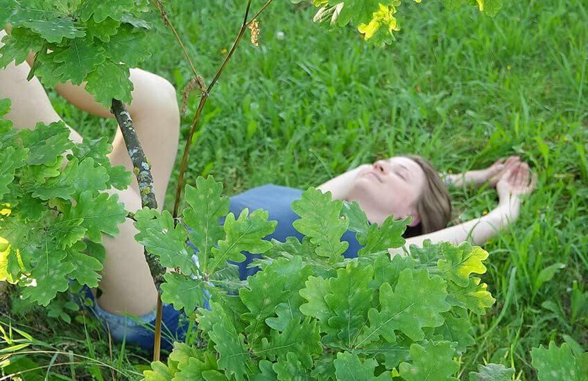 Bilde stress og avslapping total avslapping